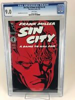 Sin City: A Dame to Kill For # 6 CGC 9.0 VF/NM (1994 Dark Horse)WP Early Hellboy