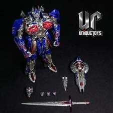 Unique Toys Transformers Alloy Plate UT R02 Knight Optimus Prime Reprint in Stoc