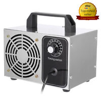 28g/h Ozone Air Purifier Ozone Generator Machine+Timing Switch Air Disinfection