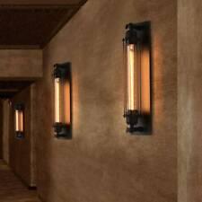 Käfig Wandlampe Vintage Wandleuchte matt Industrielampe Wohnzimmer Flur Loft E27