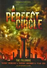 A Perfect Circle 2010 Fillmore Auditorium San Francisco F1072 Poster Wiedemann