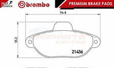 BREMBO GENUINE ORIGINAL PREMIUM BRAKE PADS PAD SET FRONT AXLE P23096