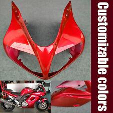 Fit For 2003-2011 Suzuki SV650S SV1000S Front Upper Fairing Headlight Nose Cowl
