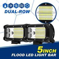 "5"" 288W CREE LED Work Light Lamp Bar FLOOD Driving Fog Pickup ATV 4WD UTE 4"" 7"""
