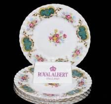 Vintage Royal Albert Berkeley set of 5 entree or salad plates