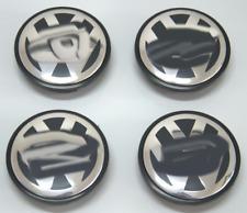 4Pcs 77MM Wheel Rim Center Cap Emblem Hub Cover For VW CC Passat Tiguan Touareg
