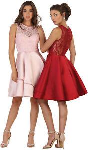 HOMECOMING SEMI FORMAL DANCE GRADUATION PROM SHORT DRESSES COCKTAIL BRIDESMAIDS