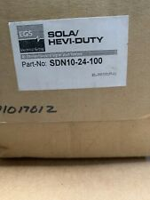 SOLA/HEVi-DUTY POWER SUPPLY Part-No. SDN10-24-100