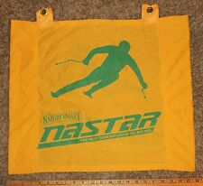 NASTAR Nature Valley wide yellow Gate Panel ski racing gate flag