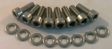 TOYOTA SUPRA 2JZ-GTE TWIN TURBO STAINLESS STEEL UPPER + LOWER TIMING COVER BOLTS