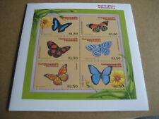 DOMINICA    CARIBBEAN-BUTTERFLIES  OF DOMINICA  SHEETLET II