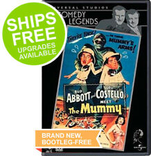 Abbott and Costello Meet the Mummy (DVD, 2001) NEW, Sealed, Comedy Legends