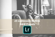 25 Lightroom Mobile B&W Presets (Fast Email Delivery)