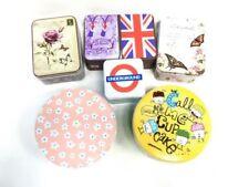 Cajas, tarros y latas decorativos latas de metal para el hogar