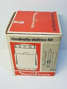 NEUF Moulinex Hachoir Moulinette Mixeur à Viande BLINDER+ Couteau  Vintage 1970