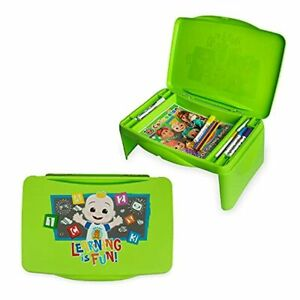 CoCoMelon Kids Lap Desk with Storage -Great for Writing, Reading or Other School