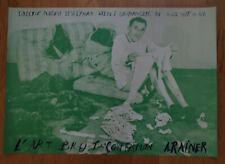 Arnulf Rainer. Plakat Zweiseitig. Grösse: 44x61 cm.