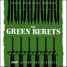 The Green berets - Soundtrack/Score CD ( LIKE NEW )