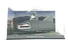 JAMES BOND 007 Collection DRAGON TANK DR. NO Detailed Movie Scale Model Car Toy.