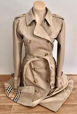 BURBERRY's $2950 Prorsum Label Women's Trench Coat Sz US 14 UK 16 AUTHENTICATED