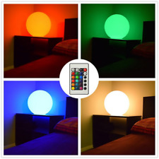 "12"" Led Ball Floating Color Spher - Pool Float Light Shw Ball - Mood Glowing Orb"