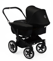 Bugaboo Donkey 2 Mono Stroller on Black Chassis, Birth to 17kg, Car seat ready