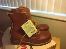 VINTAGE 1978 BNIB RED WING HERITAGE COLLECTION SAFETY BOOTS,STYLE/STOCK # 2302