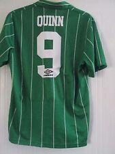 Northern Ireland 1992-1994 Jimmy Quinn 9 Football Shirt Size Large /41656