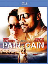 Pain And Gain - Mark Wahlberg, Dwayne Johnson (Blu-ray,DVD)