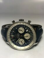 Breitling Navitimer A23322 Stainless Steel Blue dial 41mm Automatic watch