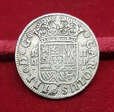 B-D-M España 2 Reales - Carlos III 1760 JP Madrid Km 388.1 Plata