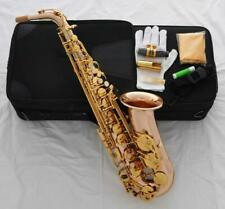 NEW Professional 54 Reference Alto Saxophone Rose Brass Sax italian pads