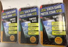 LOT OF 3 TEMPERED GLASS SCREEN GUARD IPHONE 6, 6S, 7, & 8
