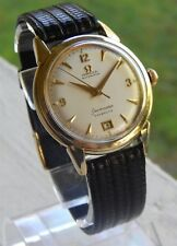 Vintage Omega SeaMaster Calendar Date at 6 - 14K Gold FILLED