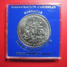 1970 BARBADOS $4 FAO BANANA TREE BRANCH CARIBBEAN DEVELOPMENT BANK w/BLUE CASE!