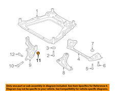 NISSAN OEM Front Suspension-Knuckle Spindle Nut 0122300231