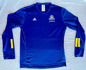Boston Marathon 2020 Mens Official Finishers Shirt M Adidas