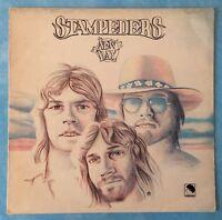 STAMPEDERS ~ NEW DAY ~ 1974 UK 10-TRACK VINYL LP RECORD ~ EMI INS 3003 [A-1/B-1]