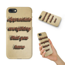 POSITIVE MOTIVATION QUOTES #64 BACK HARD CASE COVER FOR APPLE IPHONE