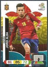 PANINI EURO 2012-ADRENALYN XL-ESPANA-SPAIN-JORDI ALBA