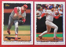 1995 Topps Philadelphia Phillies Team Set (25 cards)