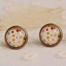 Rockabilly Glass Fashion Earrings