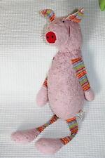 DOUDOU LANA NATURAL WEAR COCHON PIG SCHWEIN BIO ROSE PINK  BABS