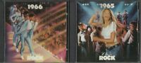 Time Life Music Classic Rock 1965 & 1966 (2 CDs 44 Classic Songs 1987)