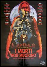 "THE DEAD DON'T DIE Original Movie Poster 39x55"" 2Sh Italian JARMUSCH IGGY HORROR"