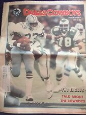 """ NFL Dallas Cowboys Official Weekly Magazine November, 6,1982; Vol. 8, No.21"