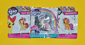 My Little Pony 3 x Egmont Figures: The Cutie Mark Crusaders CMC