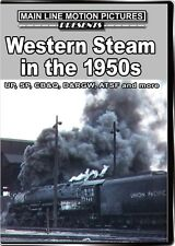 Western Steam in the 1950s DVD Union Pacific Southern D&RGW CB&Q Great Western