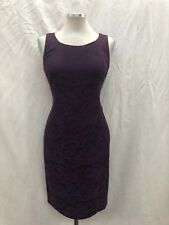 "JONES NEW YORK DRESS/NEW WITH TAG/LINED/PLUM/BLACK/SIZE 16/LENGTH 41""/RETAIL$98"