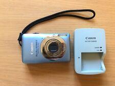 Canon PowerShot SD1300 IS Digital ELPH / IXUS 105 Blue Digital Camera, Working!